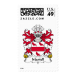 Martell Family Crest Stamps