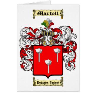 Martell Tarjeta Pequeña