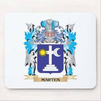 Marten Coat of Arms - Family Crest Mouse Pad