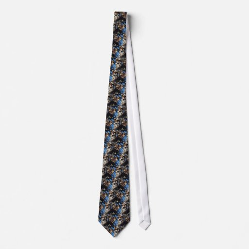 Marten in Spruce Tree Tie