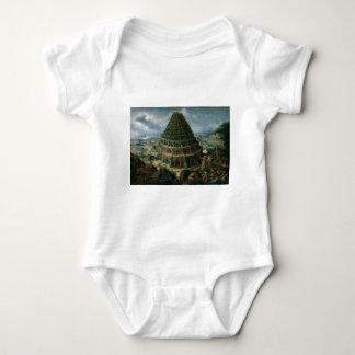 Marten van Valckenborch - The Tower of Babel Baby Bodysuit
