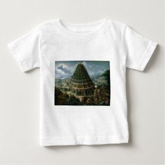 Marten van Valckenborch - The Tower of Babel Baby T-Shirt