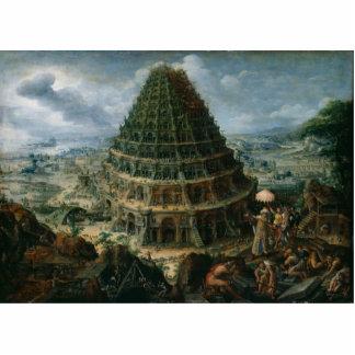 Marten van Valckenborch- The Tower of Babel Cutout