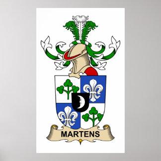 Martens Family Crest Print