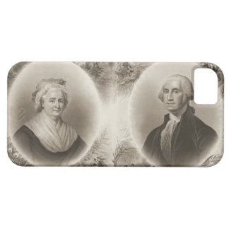 Martha and George Washington 1876 iPhone 5 Cover