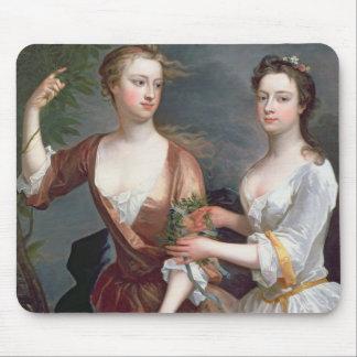 Martha and Teresa Blount, 1716 Mouse Pad