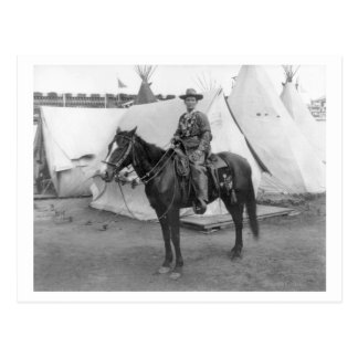 "Martha ""Calamity Jane amarillo"" a caballo Postales"