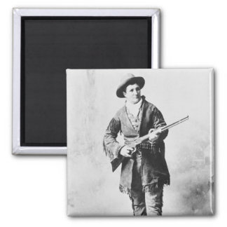 Martha Canary  c.1895 2 Inch Square Magnet