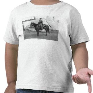 "Martha Canary ""Calamity Jane"" on Horseback Tee Shirts"