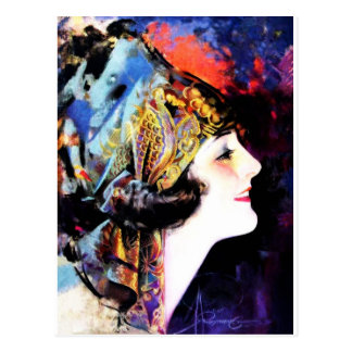 Martha Mansfield Postcard