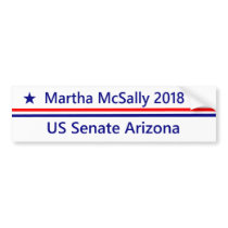 Martha McSally  Senate 2018 Arizona Bumper sticker