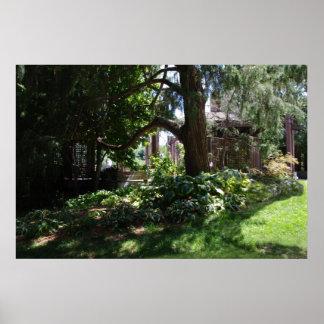 Martha Parriott Terrace Garden Print