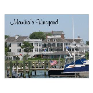 Martha s Vineyard Cape Cod postal de Edgartown mA