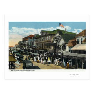Martha s Vineyard escena de la avenida del circui Tarjetas Postales