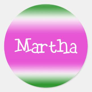 Martha Sticker