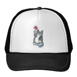 Martha Swings at Red Butterfly Trucker Hat