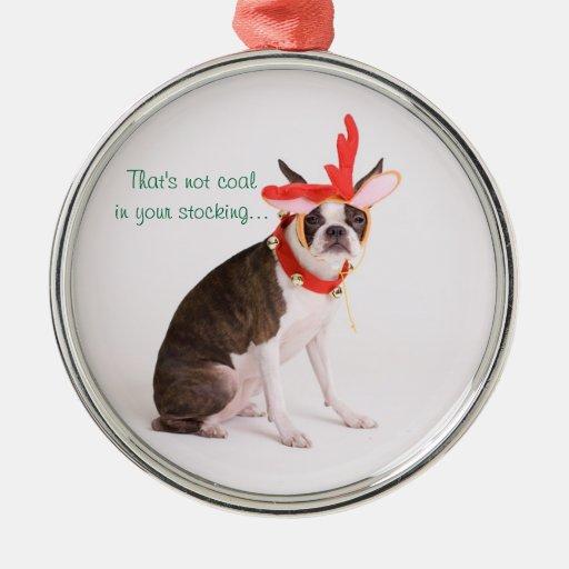 Martha the reindeer christmas ornaments