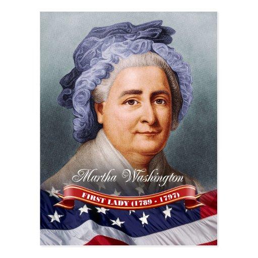 Martha Washington, First Lady of the U.S. Postcard