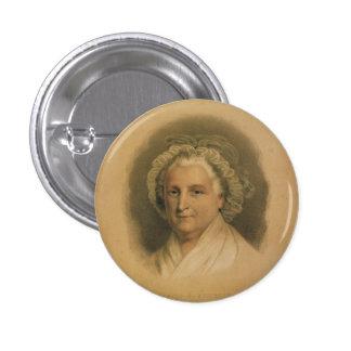 Martha Washington Portrait by Currier & Ives Pinback Button