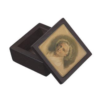 Martha Washington Portrait by Currier & Ives Premium Jewelry Boxes