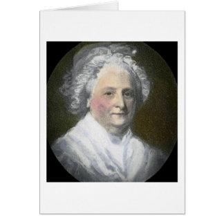 Martha Washington Vintage Magic Lantern Slide Card