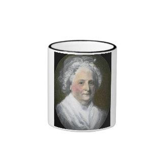 Martha Washington Vintage Magic Lantern Slide Ringer Mug