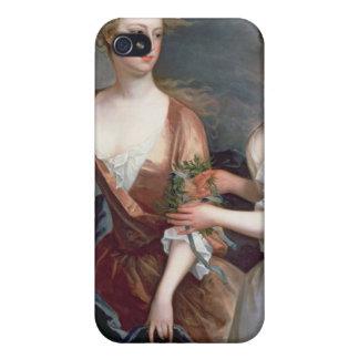 Martha y Teresa Blount, 1716 iPhone 4 Fundas