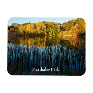 Marthaler Park Autumn Reflections Magnet