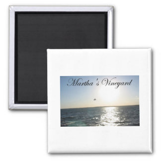 Martha's Vineyard 2 2 Inch Square Magnet