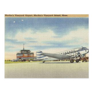 Marthas Vineyard Airport Postcard