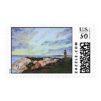 Martha's Vineyard Aquinnah Lighthouse Stamps