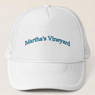 Martha's Vineyard Arch Text Trucker Hat