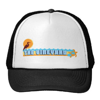 "Martha's Vineyard ""Beach"" Design. Trucker Hat"