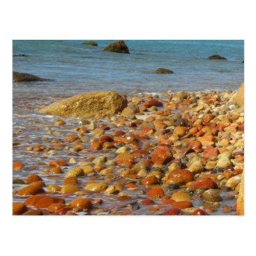 Beach Themed Martha's Vineyard Beach Post Card
