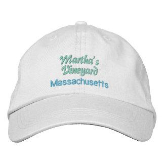MARTHA'S VINEYARD cap Embroidered Hat