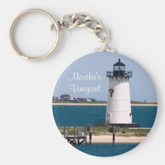 Martha's Vineyard Cape Cod Massachusetts Keychain