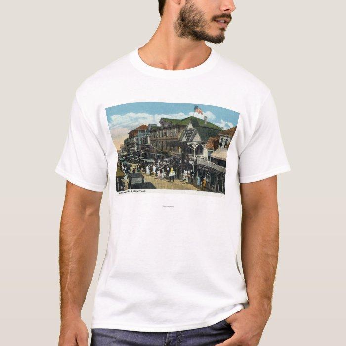 Martha's Vineyard, Circuit Avenue Scene T-Shirt