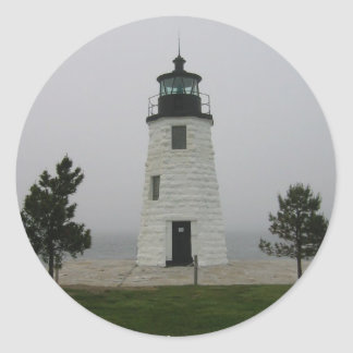 Martha's Vineyard Classic Round Sticker