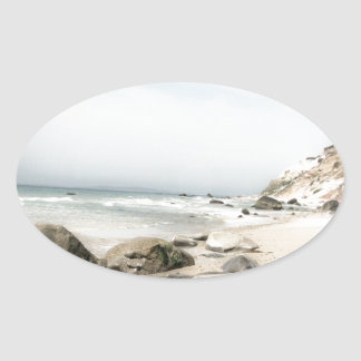 Martha's Vineyard Collection Oval Sticker