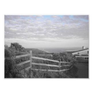 Martha's Vineyard en blanco y negro Fotografías