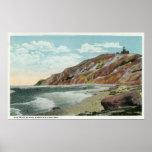 Martha's Vineyard, Gay Head Cliffs View Print