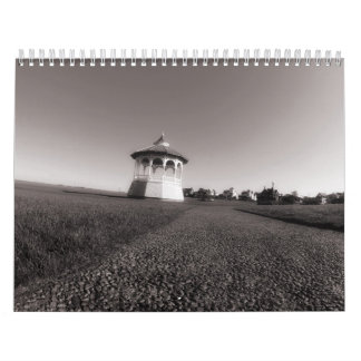 Martha's Vineyard Island B&W Photo Calendar