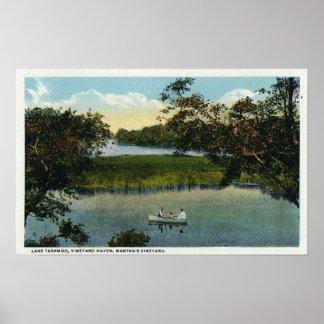 Martha's Vineyard, Lake Tashmoo Scene Posters