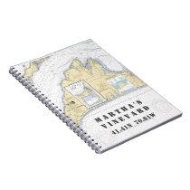 Martha's Vineyard Latitude Longitude Boater's Notebook