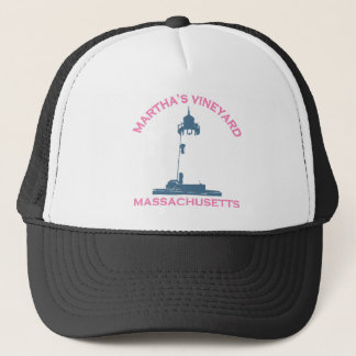 "Martha's Vineyard ""Lighthouse"" Design. Trucker Hat"