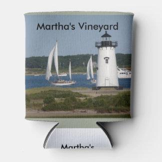 Martha S Vineyard Lighthouse On Can Cooler