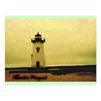 Marthas Vineyard Lighthouse Post Cards