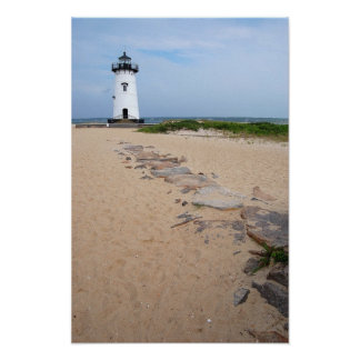 Martha's Vineyard Lighthouse Poster