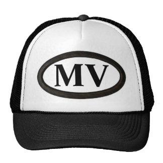 "Martha's Vineyard, MA ""MV"" Mesh Hat"