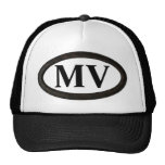 "Martha's Vineyard, MA ""MV"" Trucker Hat"